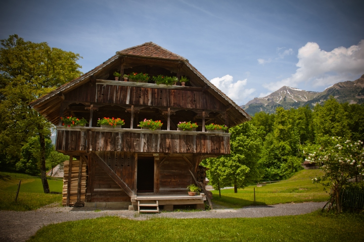 Swiss Open Air museum  — часть 1