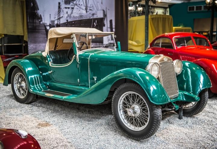 Музей  раритетных машин —Эльзас